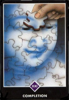 completion Zen love tarot card