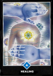 healing Zen love tarot card