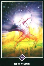 new vision Zen love tarot card