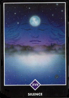 silence Zen love tarot card