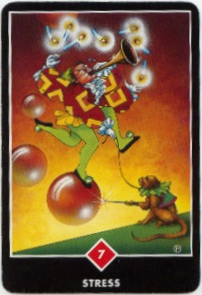 stress Zen love tarot card